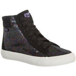 Keds Girls Double Up High Top Casual Shoes