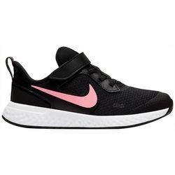 Nike Little Girls Revolution 5 Athletic Shoes