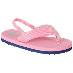 Reel Legends Toddler Girls Shore II Flip Flops