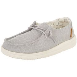 Hey Dude Girl's Wendy Youth Linen Shoes