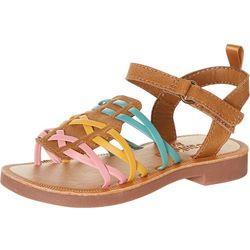 OshKosh Little Girls Saffron Sandals