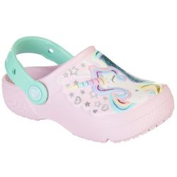 Crocs Toddler Girls Fun Lab Unicorn Clogs