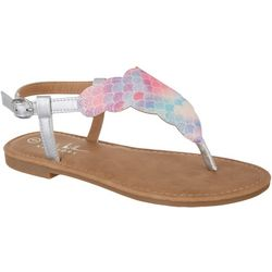 Nicole Miller Little Girls Amber Flat Sandal