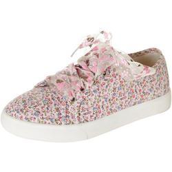 Girls Ditsy Sneakers
