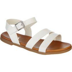 Mia Coree Metallic Strappy Sandal