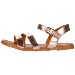 Mia Coree Metallic Strappy Sandal