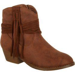 Mia Girls Annabeth Tassel Solid Boots