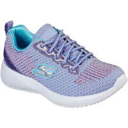 Skechers Girls Sport Squad Glitter Charm Sneakers