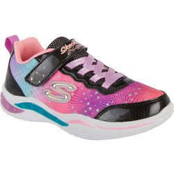 Skechers Kids Power Petals Painted Daisy Sneakers