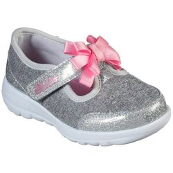 Skechers Toddler Girls GOwalk Joy Bitzy Bitty Shoes