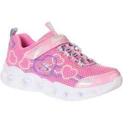 Skechers Little Girls Heart Lights Athletic Shoes