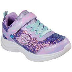 Skechers Kids Glimmer Kicks-GlitterN'glow Sneakers