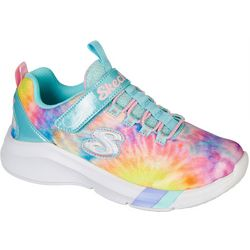 Skechers Little Girls Dreamy Lites Sunny Groove Sneaker