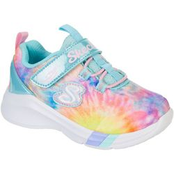 Skechers Toddler Girls Dreamy Lites  Sunny Groove Sneakers