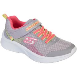 Skechers Little Girls Microspec Athletic Shoes