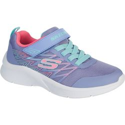 Skechers Girls Microspec Bold Delight Athletic Shoes