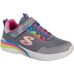 Skechers Girls Dyna-Lite Bright Athletic Shoes