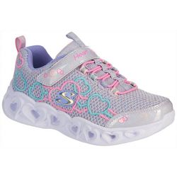 Skechers Girls Heart Lights- Love Mania Sneakers