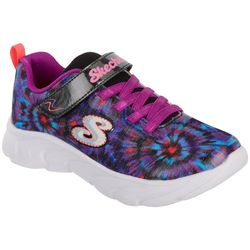 Skechers Big Girls Dynamic Dash Vivid Print Sneakers