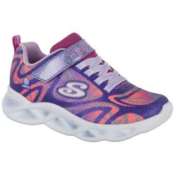 Skechers Girls Twisty Brights Sneaker