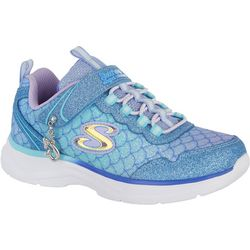 Skechers Little Girls Glimmer Kicks Shoes
