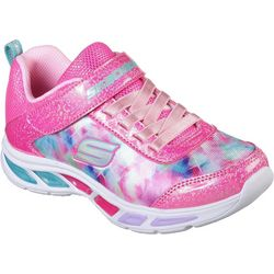 Skechers Girls Dance N' Glow Athletic Shoes