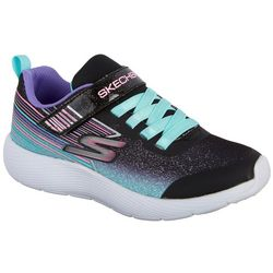 Skechers Girls Dyna-Lite Multicolored Athletic Shoes