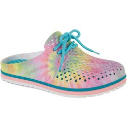 Airwalk Girls Tie Dye Clogs