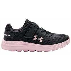 Under Armour Little Girls Surge 2 Athletic Shoes
