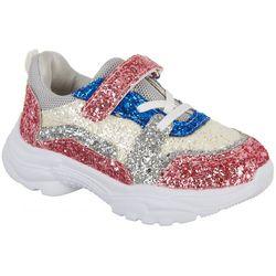 Olivia Miller Girls Glitter Sneaker