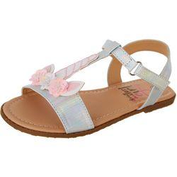 Girls Unicorn Sandals