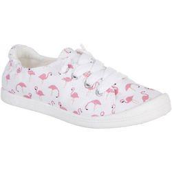 Jellypop Kids Lollie Flamingos Canvas Sneakers