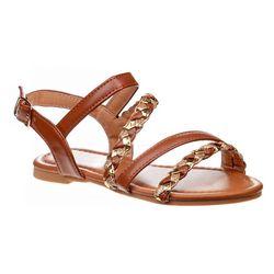 Josmo Girls Petalia Woven Strap Sandals