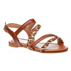 Girls Petalia Woven Strap Sandals