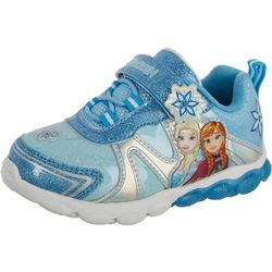 Disney Little Girls Frozen 2 Elsa & Anna Sneakers