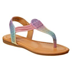 Laura Ashley Baby Girls Rainbow Sandals