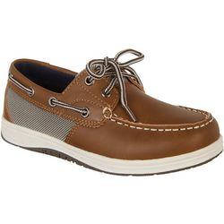 Reel Legends Boys Classic Boat Shoes