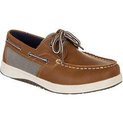 Reel Legends Grade School Big Boys Classic Boat Shoes