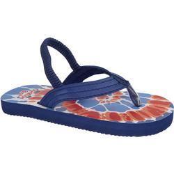 OshKosh Little Boys TieDye Flip Flops
