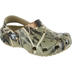 Crocs Toddler Boys Camo Classic Clogs