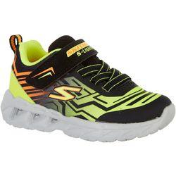 Skechers Kids Magna-Lights-Bozler Athletic Shoes