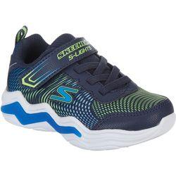 Skechers Kids Erupters IV Light Up Athletic Shoes