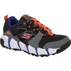 Skechers Boys Velocitrek Trail Blaster Athletic Shoes
