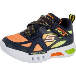 Skechers Boys Flex Glow Lowex Sneakers