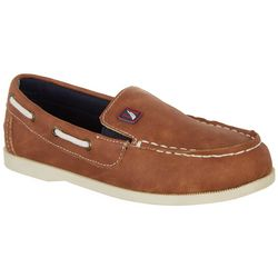 Nautica Boys Rowlock Boat Shoes