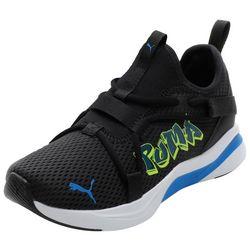 Puma Big Boys Softride Rift Slipon Street Art Athletic Shoes