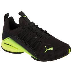 Puma Big Boys Axelion Interest Fade Athletic Shoes