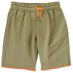 Big Boys Solid Contrast Trim Shorts