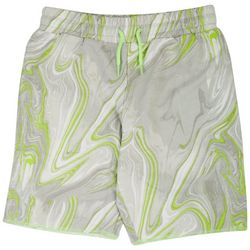 Bleached Big Boys Marble Print Shorts