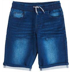 Hollywood Big Boys Pull-On Denim Shorts